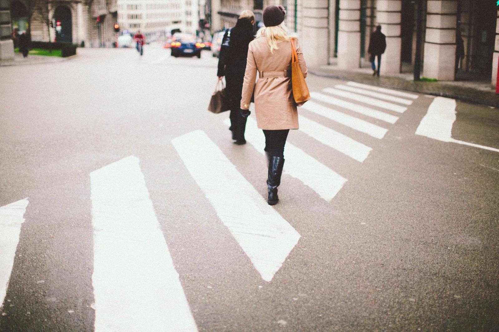 Gyalogos a gyakorló órán