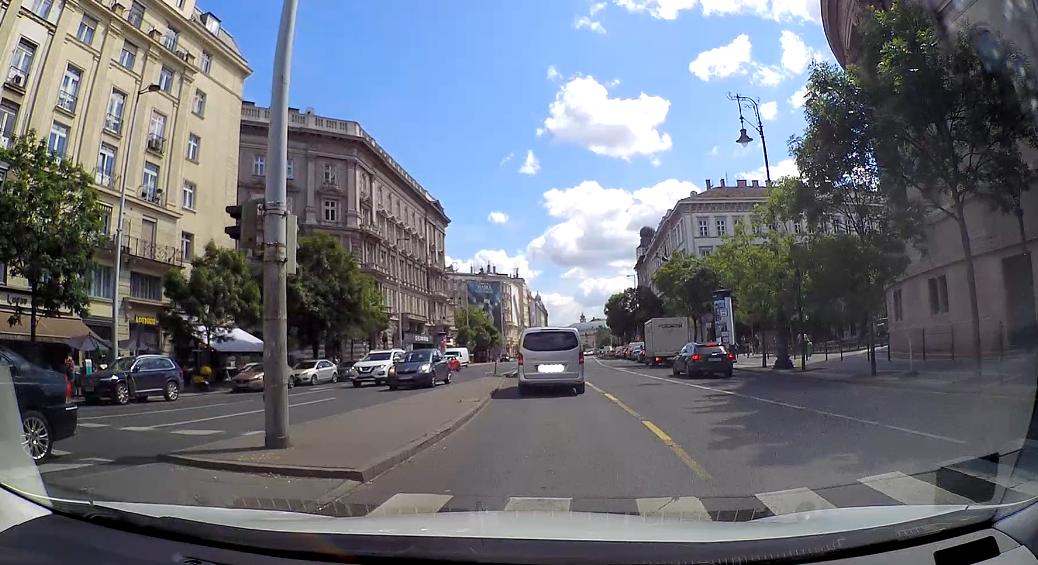Gyakorlóvezetés Budapesten Eszterrel